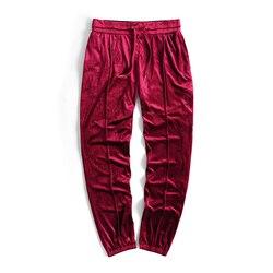 2018 New Arrived Kanye West Streetwear Solid Color100% Velvet Hoodies Men Pullovers Hip Hop Long sweatshirts Youth Popular S-XL 5