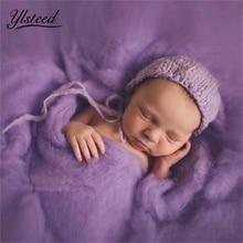 Мягкое Флисовое одеяло для новорожденных, 20 цветов, 60 х60 см