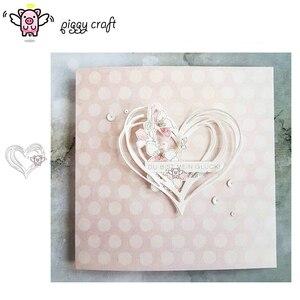 Image 1 - Matrices de découpe en métal artisanal, moule de découpe en forme de cœur décoration Scrapbook en papier, couteau artisanal, moule de lame, pochoirs de poinçon