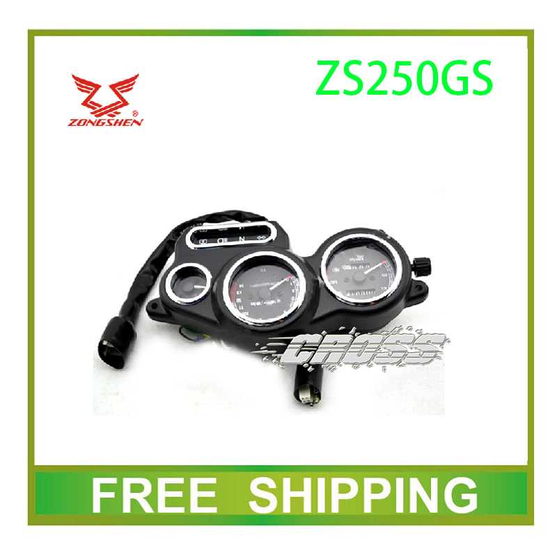 ФОТО ZS250GS PIAGGIO  zongshen 250cc dirt bike dirtbike speedometer odometer instrument motorcycle accessories free shipping