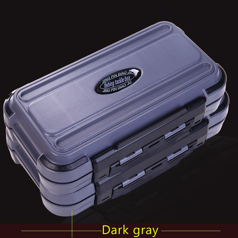 20CM Fishing Tackle Box 28 Grids Compartments 4Color Fish Lure Line Hook Fishing Tackle Fishing Accessories Box 2