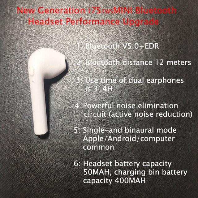 i7xminitws ушной раковины беспроводной bluetooth 50 стерео con фотография