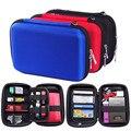 "Portable Rectangle Square Digital Accessories Travel Storage Bag for 2.5"" Hard Disk Drive, U Disk, Charger, Mini Gadget Pocket"
