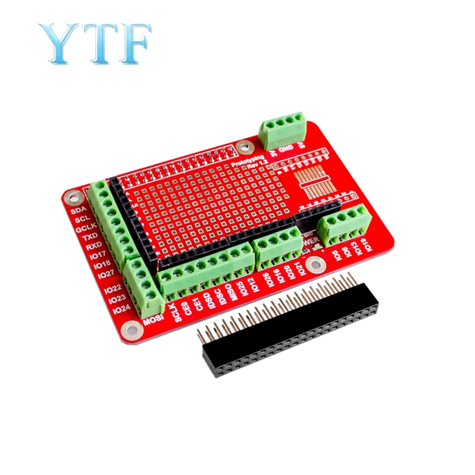 Prototyping HAT for Raspberry Pi B+//2B//A+//3B