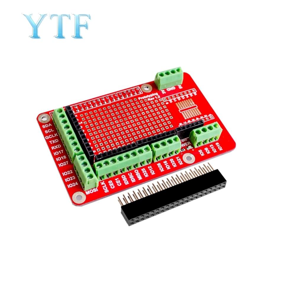 Raspberry Pi Expansion Board Prototype Development For Raspberry Pi 2 3 B Type B+