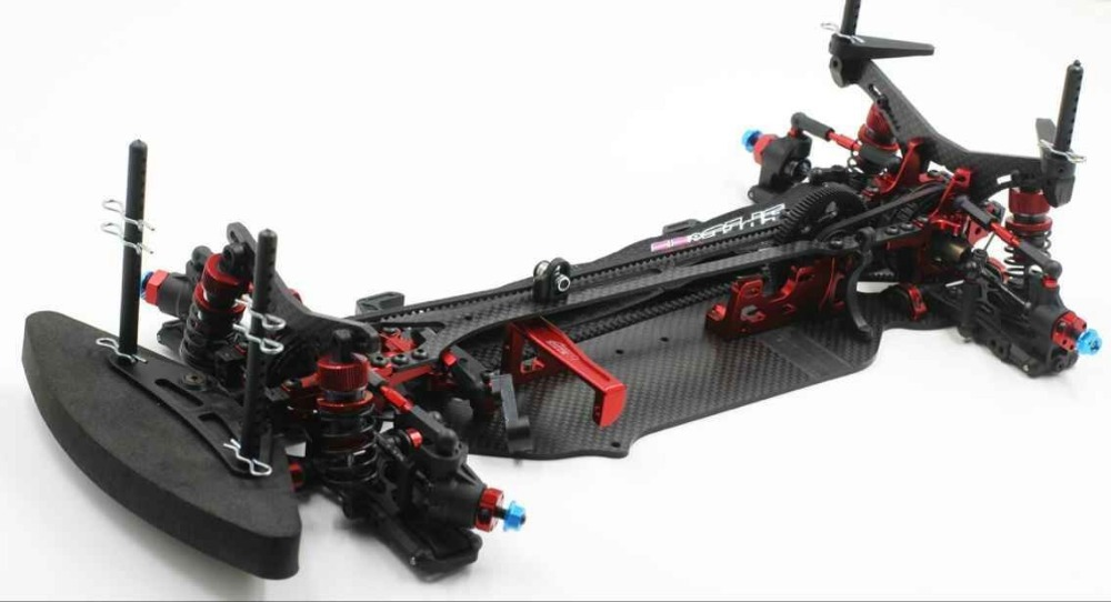 1 10 Scale Rally On Road Race Drift Rc Car Chassis Carbon Fiber