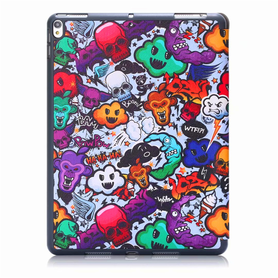 Image 3 - Case For iPad Air 3 2019 10.5 Stand Silicon Cover For iPad pro 10.5 2017 Smart Cover With Pencil Holder +Screen protector+penTablets & e-Books Case   -