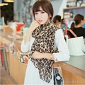 Women Chiffon Beach Ring Mask Wind Dust Mask Luxury Leopard Shawl Winter Silky Scarf India New Year Gifts For Girl Stoles Wraps