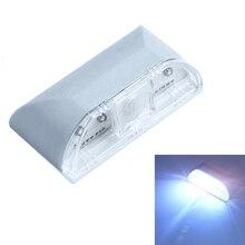 Home IR Motion Sensor Detector Auto PIR LED Light Lamp for Door Keyhole Stairway LS