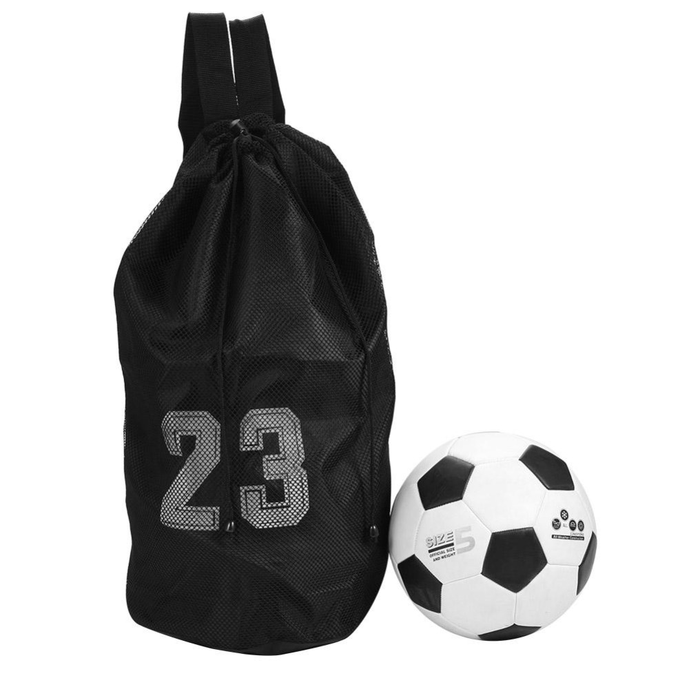 b76de7a2f6b 2019 Outdoor Sport Bag Large Capacity Mesh Drawstring Football Bag ...
