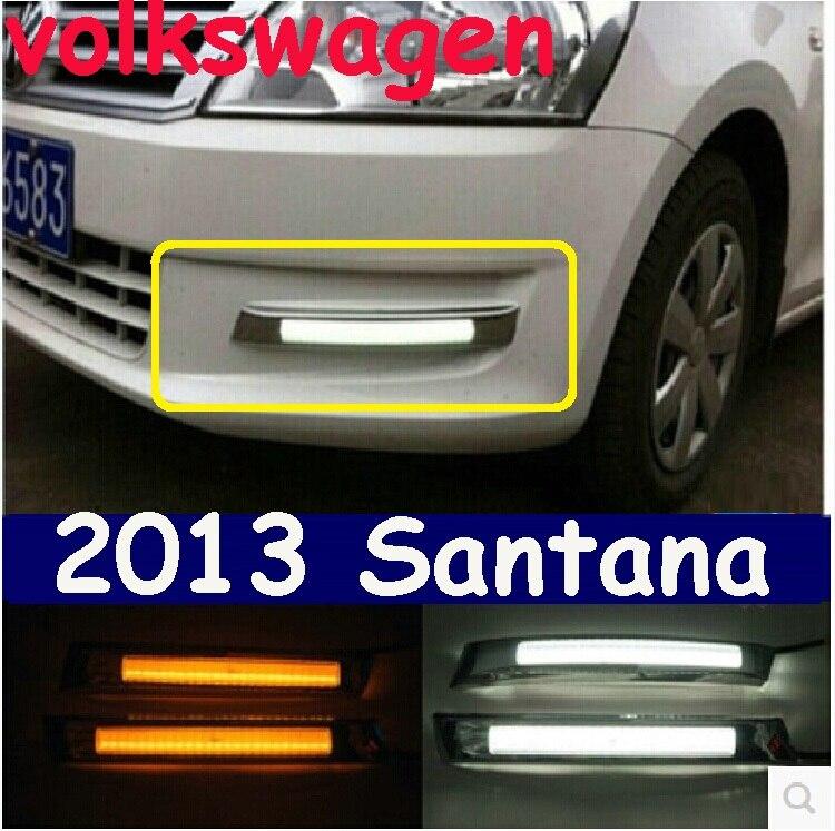 ФОТО VW Santana Daytime light;2013~2016, Free ship!LED,VW Santana fog light,2ps/set;Tiguan,Touareg,Bora,Santana