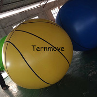 inflatable basketball beach ball outdoor sport games colorful inflatable beach ball giant toy ball for kids
