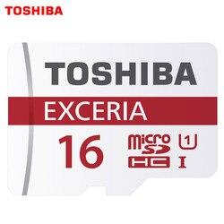الأصلي توشيبا بطاقات الذاكرة مايكرو SD بطاقة 16 جيجابايت 32 جيجابايت 64 جيجابايت 128 جيجابايت الدرجة 10 U1/U3 مايكرو TF بطاقة UHS1 القلم محرك فلاش
