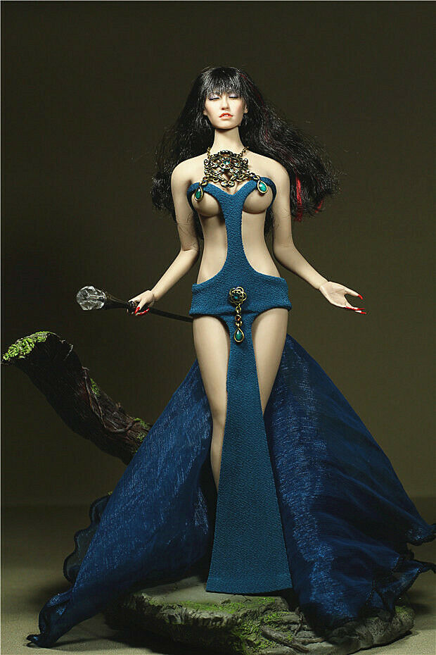 "TBLeagure Phicen Figure Accessory Maid clothes set For 12/"" Female Doll"