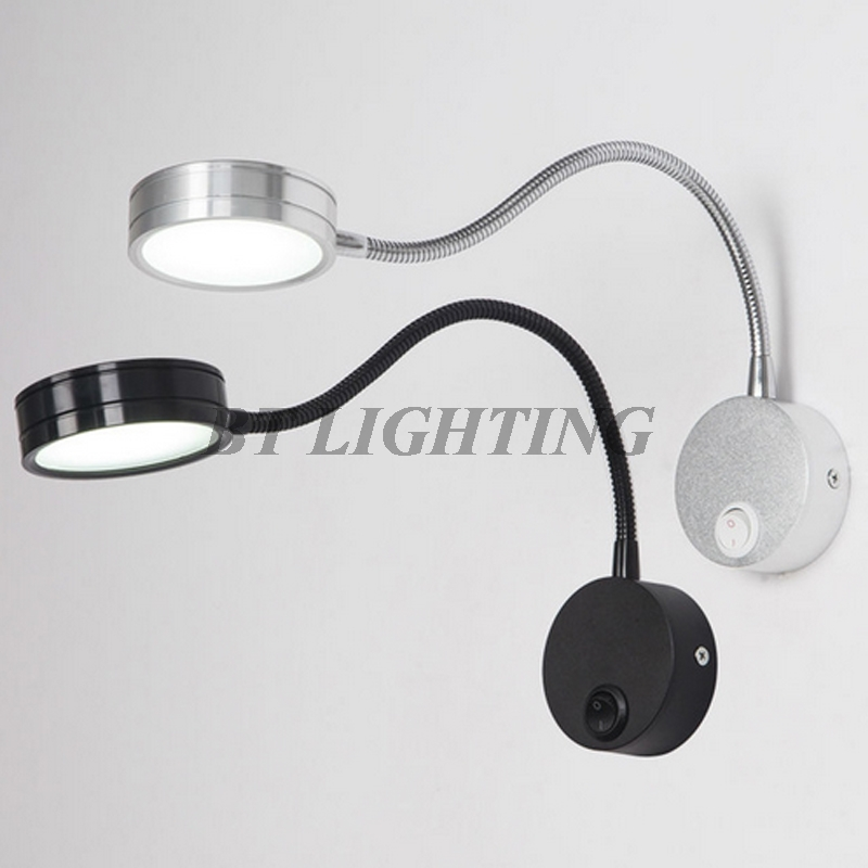 Warehouse Reading Light: Aliexpress.com : Buy Wall Lamp Flexible Bedside Knob
