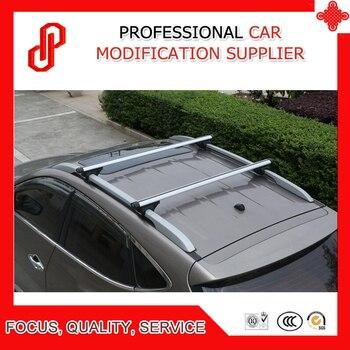 Yüksek kalite 1 çift yük malları Alumiunium alaşım araba çatı travers Ecosport
