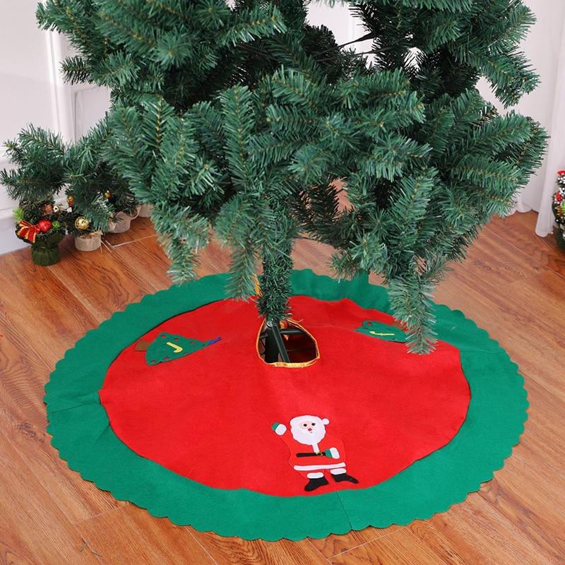 Christmas Base.Us 3 55 27 Off 2018 New Lovely Christmas Tree Skirt Sled Reindeer Snowman Cover Base Decoration Xmas Tree Cover Decor In Tree Skirts From Home