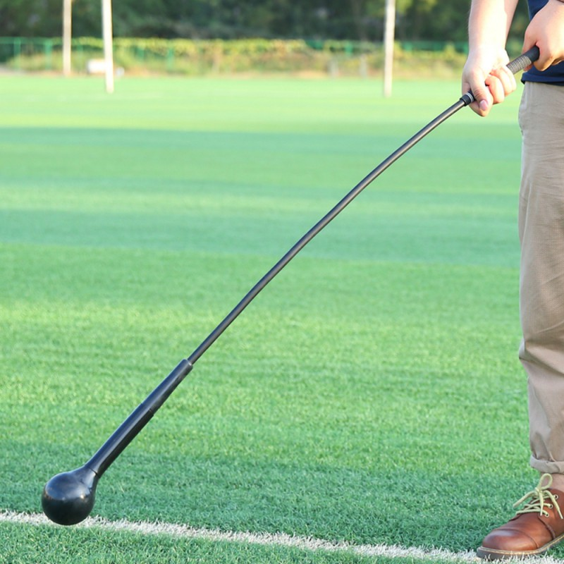 Golf Training Aids Golf Swing Trainer Deformation Balance Muscle Workout High Density EVA Soft Stick Training Stick 2 Colors