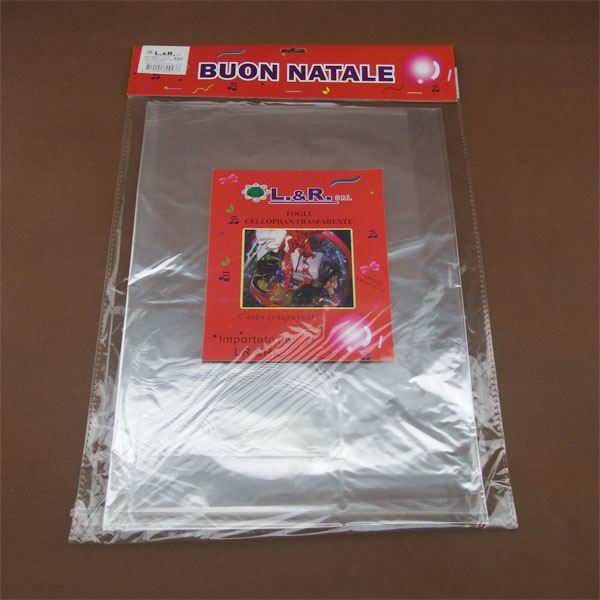70130cm Cellophane Clear Color Transparent Cellophane Plastic Paper