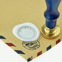 Daisy Flower Wax Seal Stamp