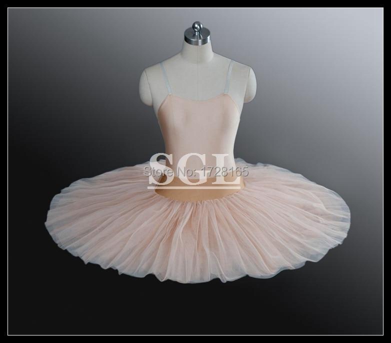 Free Shipping Adult Ballet Half Tutu Child Kids Girls Size 8 Layers Hard Tulle Tutu Skirt