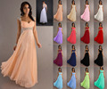 2015 New Bridemaid/evening/prom/party dress with appliques in Stock size ( 6 Sizes to choose)