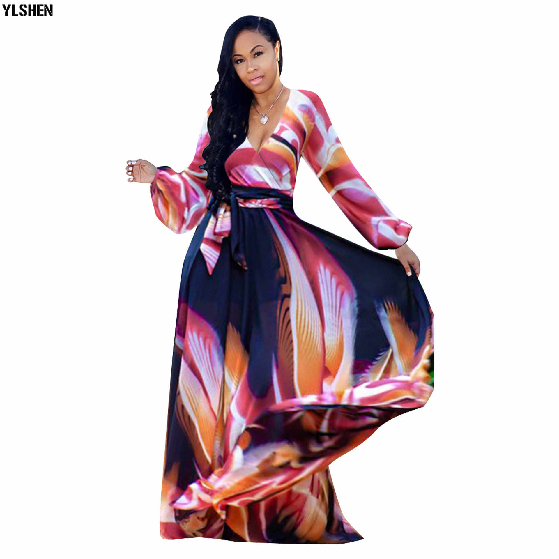 African Dresses For Women African Clothes Africa Dress Print Dashiki Ladies Clothing Ankara Plus Size Africa Women Dress S-5XL