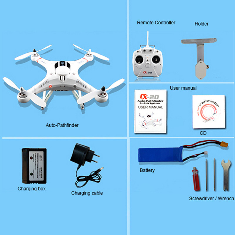 Cheerson Cx 20 Professional Drone Gps Camera Quadcopter Rc. Cheerson Cx 20 Professional Drone Gps Camera Quadcopter Rc Helicopter 4 Ch 24g 6 Axis Fpv Vs Dji Phantom 2 Free Shippingin Helicopters From Toys. Wiring. Drone Cx20 Wiring Diagram At Scoala.co
