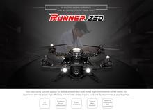 F15608 Runner 250 RTF Walkera FPV Drone Quadcopter con DEVO 7 Transmitter Básica 1