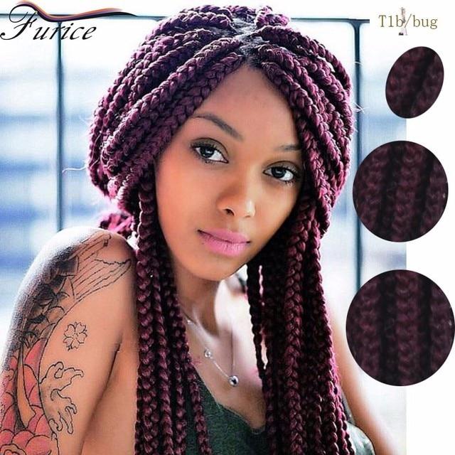 Individual Box Braids Crochet Hair Extensions Curly Dreadlock Beads