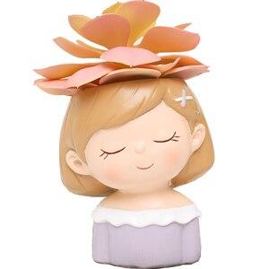 Image 5 - Accesorios de decoración del hogar maceta decorativa pequeña maceta suculenta regalos de boda Regalo de Cumpleaños decoraciones de escritorio