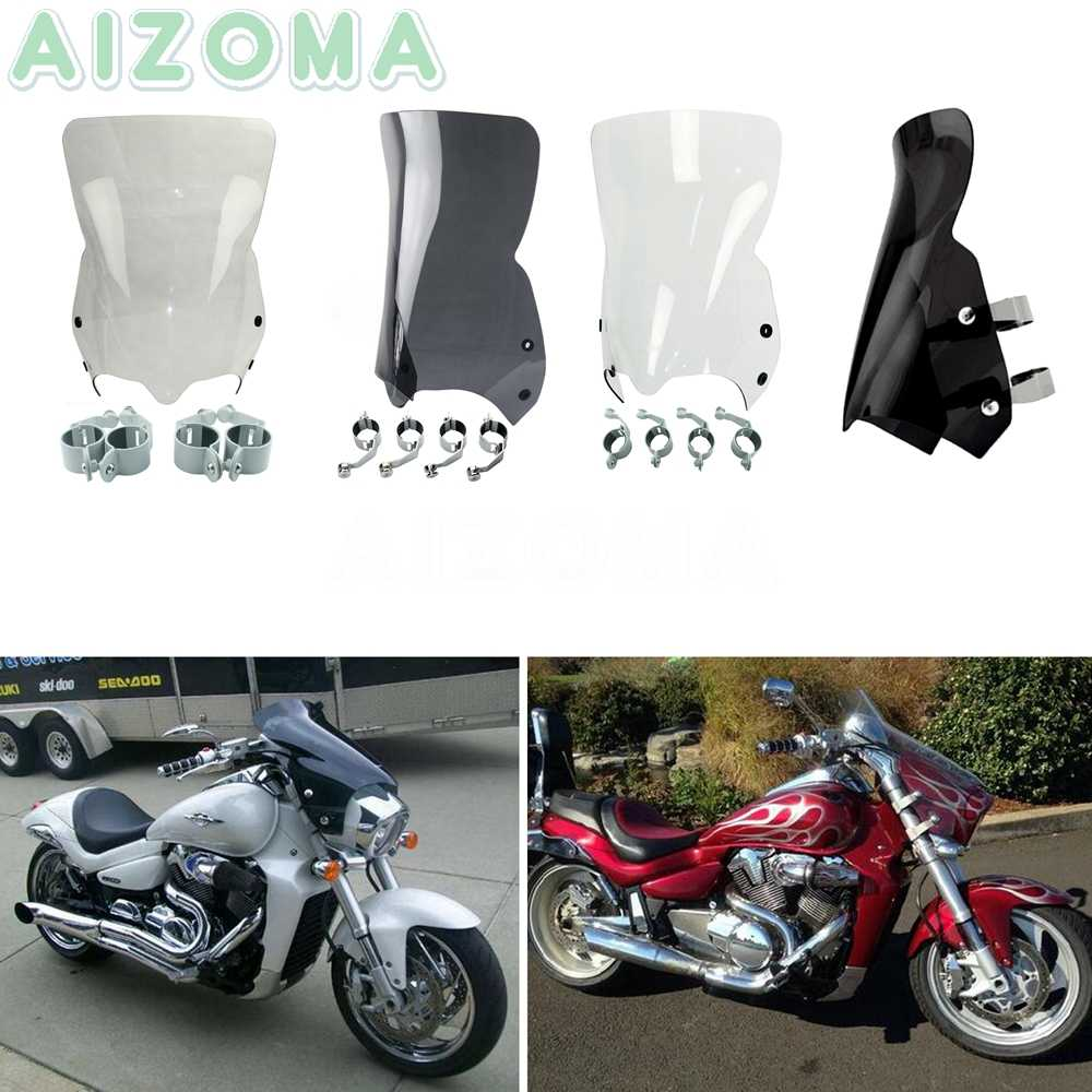 3 Colors Motorcycle Windshield for Suzuki Boulevard M109R