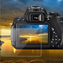 Protetor de vidro temperado guarda capa para canon eos 60d 600d 550d m m2 beijo x5 x4 rebel t3i t2i câmera tela lcd película protetora