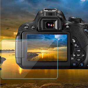 Image 1 - Tempered Glass Protector Guard Cover for Canon EOS 60D 600D 550D M M2 Kiss X5 X4 Rebel T3i T2i Camera LCD Screen Protective Film