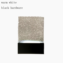 Минималистский Современной Гостиной Стены Спальни Лампа прикроватная лампа LED 6 Вт Кристалл Настенный Светильник кристалл пузырь теплый белый холодный белый лампы
