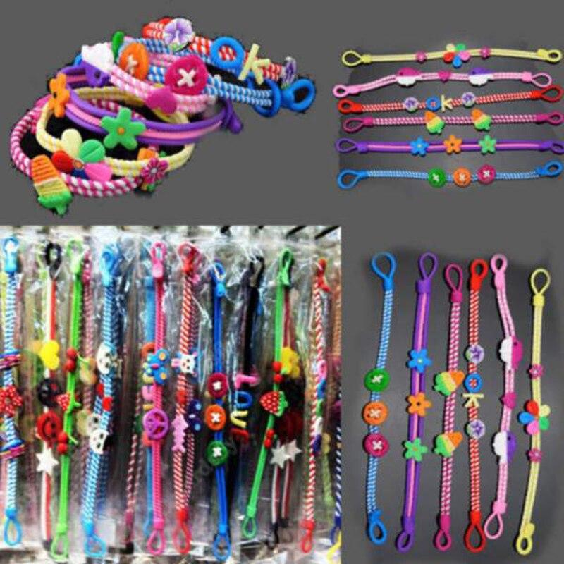 Wholesale 20PCS Jewelry Lots Polymer Clay Kids Baby Children Bracelets Wirst band
