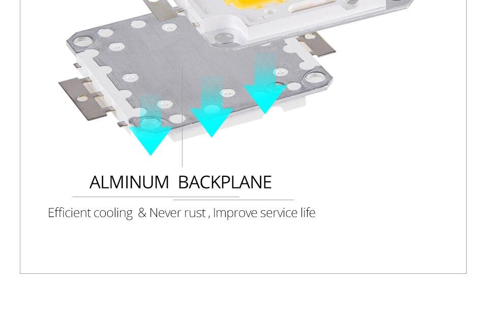 LED Chip 12V 10W 30V-36V 20W 30W 50W 100W Integrated COB LED Beads DIY Floodlight (8)