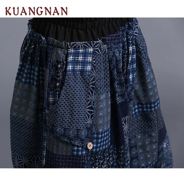 KUANGNAN Jogger Pants Men Cotton Linen Casual Pants Men Streetwear Cross-Pants Men Pantalon Homme One Size Trousers 2018 Summer 4