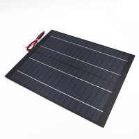 20Watt 1.1A Mini PET polycrystalline PV module Solar Panel 18V 20W cell charge for 12V battery Charger 20 watts W Watt