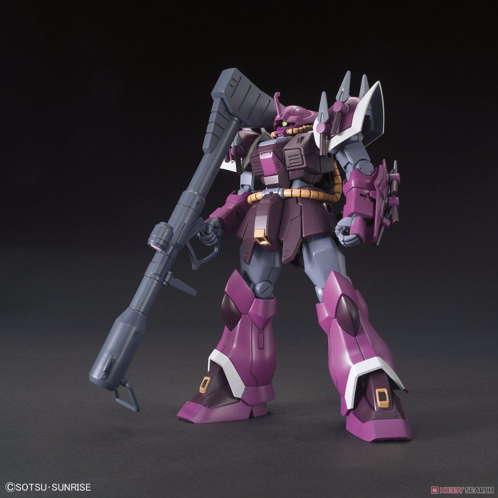 Bandai 1/144 HGUC 206 MS-08TX SIfler Schneid Gundam model building Plastic model Toys Figure bandai bandai gundam model sd q version bb 309 sangokuden wu yong bian xiahou yuan battle