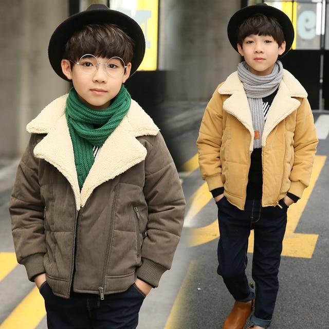 daccdaf31d4b Autumn Kids Clothes Baby Boys Jackets Winter 2017 Coat corduroy ...
