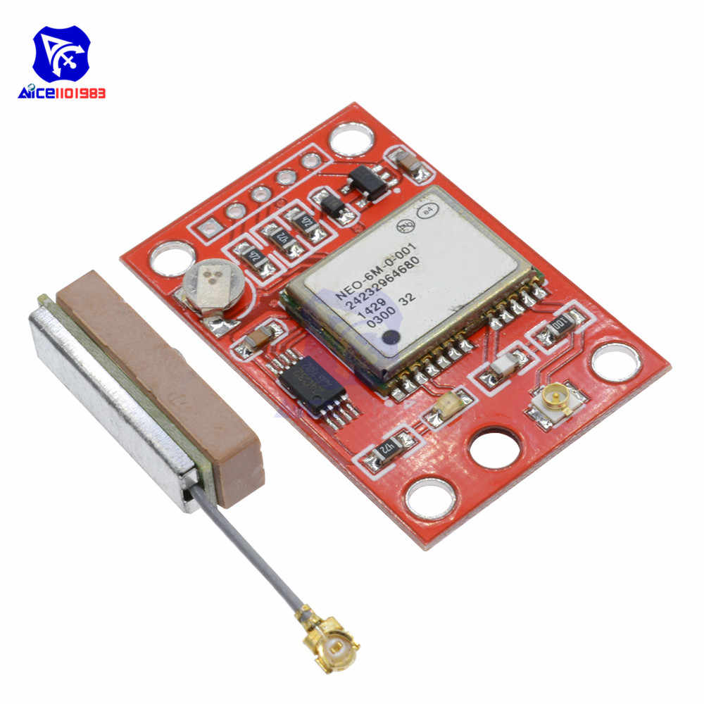 GY-NEO6MV2 NEO-6M GPS Module NEO6MV2 Vlucht Controller Board EEPROM MWC APM2 APM2.5 IPEX/IPX GSM GPS Antenne voor Arduino