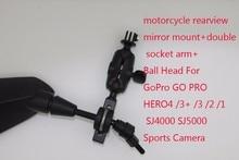 Mount Go Pro Car Sucker Holder Mount for Gopro Hero 4 3 Sj4000 SJ5000 Action Camera Accessories