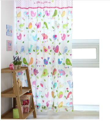 High Quality Bird Print Curtains Promotion-Shop for High Quality ...