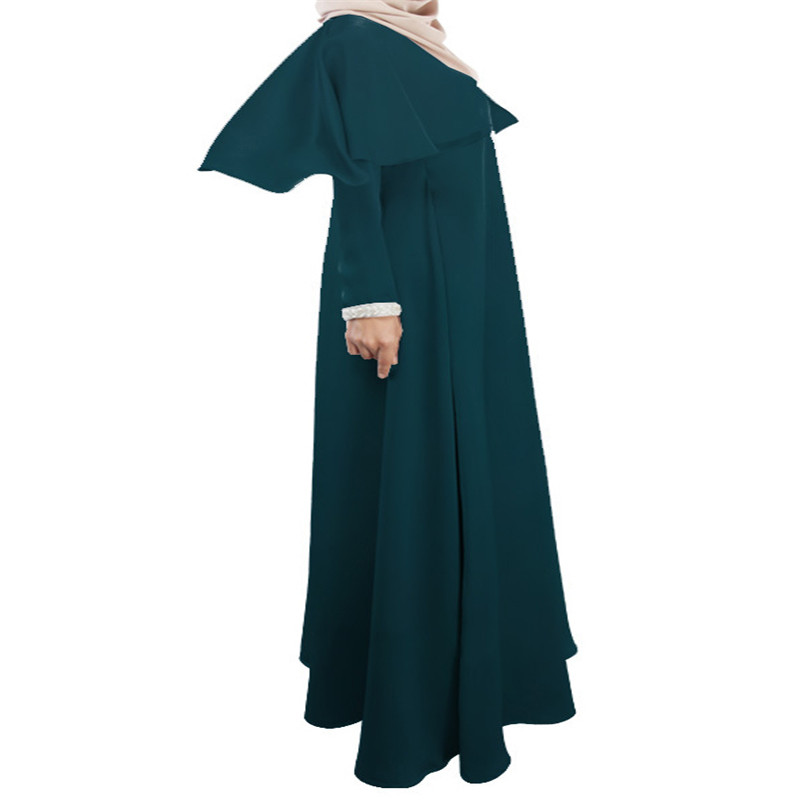 Bubble Tea 2017 muslimanske žene haljina nedjelja najbolje haljine s - Nacionalna odjeća - Foto 4