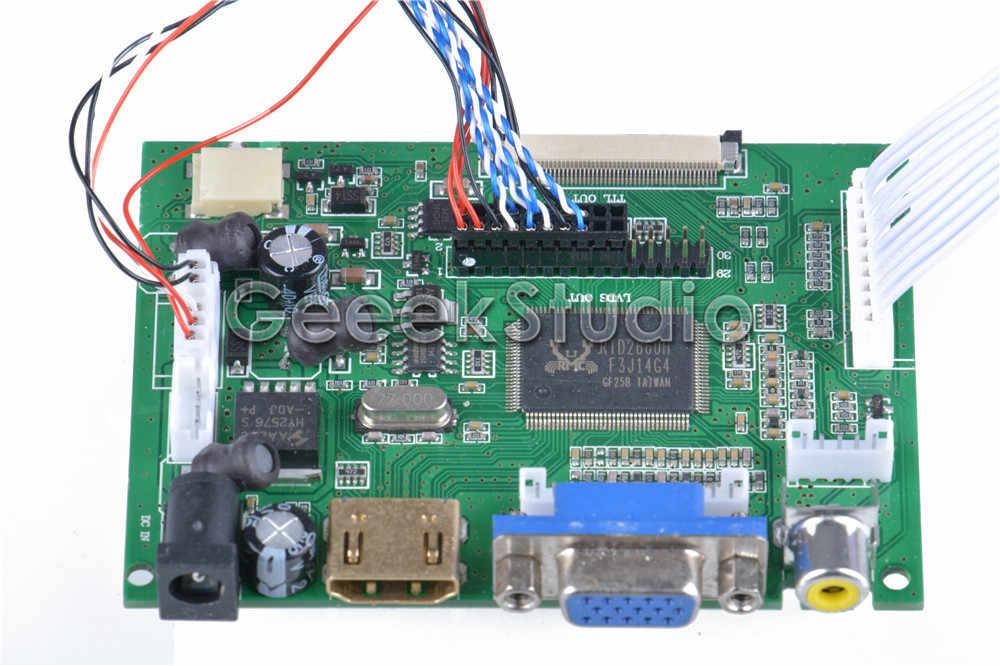 10,1 дюймов 1366*768 ЖК-экран TFT монитор для Raspberry Pi 3/2 Модель B