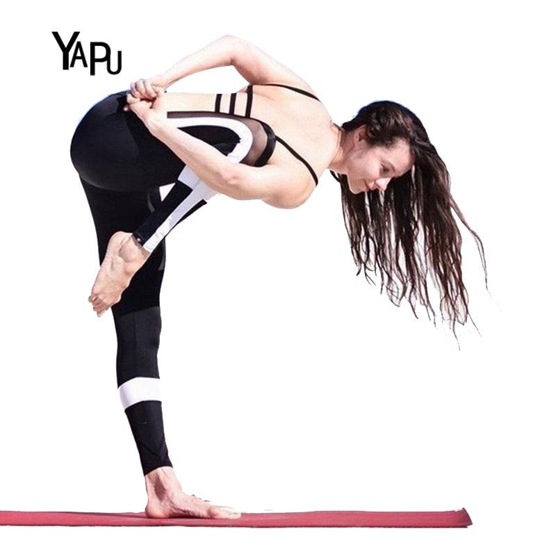 YAPU 2017 Summer Mesh Breathe font b Women b font Translucent Legging fitness deer leggings mermaid