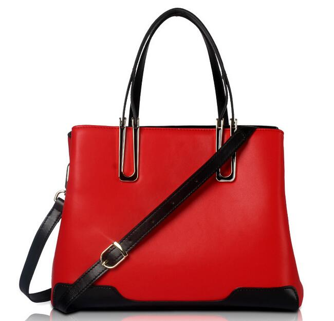 Luxury Handbags Leather Crossbody Bags for Women 2018 New Ladies Genuine Leather Bag Female Large Tote Bag Red Black White A051 venum origins bag xtra large black red