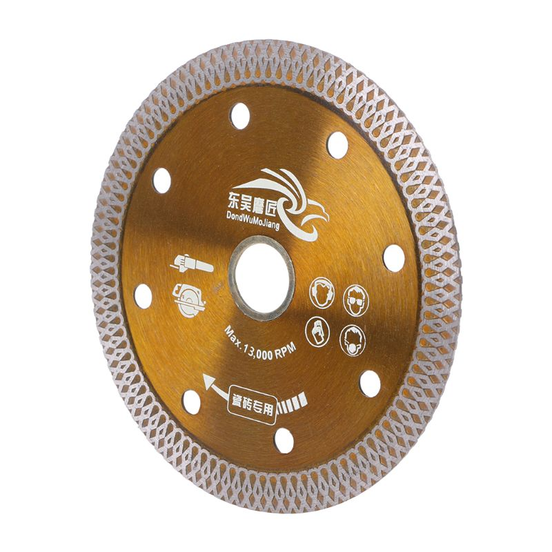 Hot Pressed Sintered Diamond Saws Blade Mesh Turbo Cutting Disc For Granite Marble Tile Ceramic