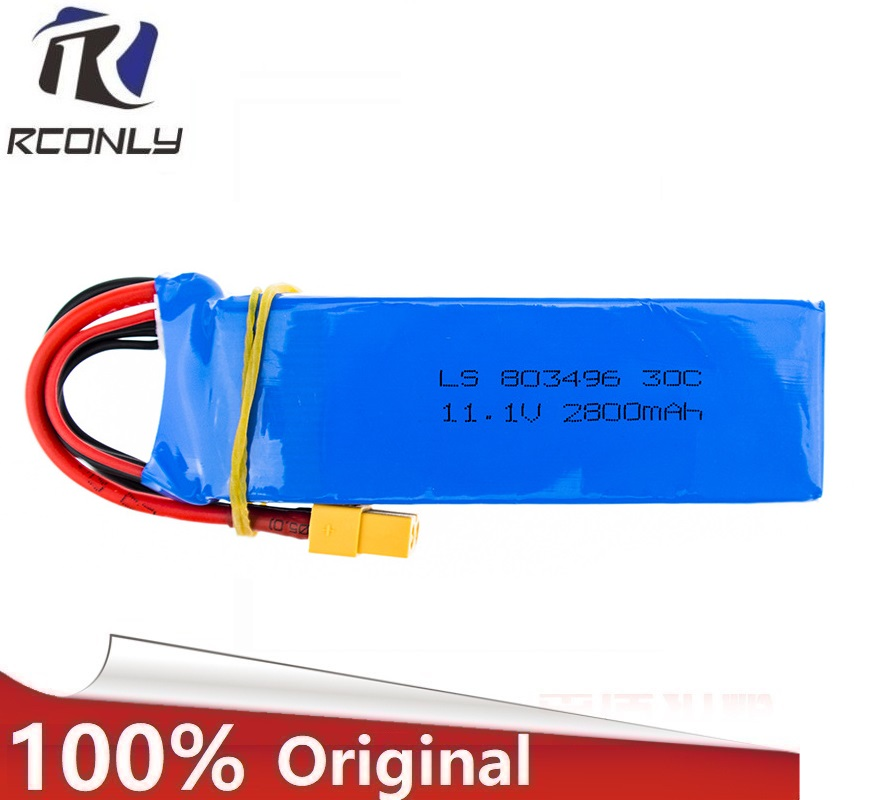 Upgraded 11.1V 2800MAH 30C Battery for Cheerson CX-20 RC Quadcopter Free shipping 3s battery 3s 11.1v lipo battery 2600mah 11 1v 3s 30c lipo battery